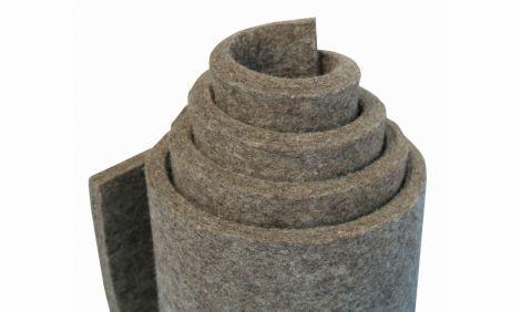 G100 - grey, částečně tuhá (0,30 g/cm3), 100 % vlna