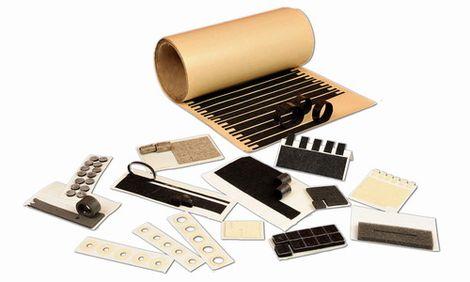 Plstěné komponenty pro elektronický průmysl