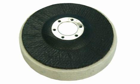Plstěné kotouče na sklotextilním talíři - střední hustota 0,44 g/cm3