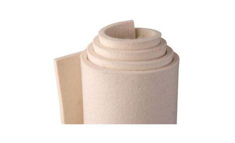 W80-bílé, měkké (0,24 g/cm3), 80 % wool/20% umělá vlákna
